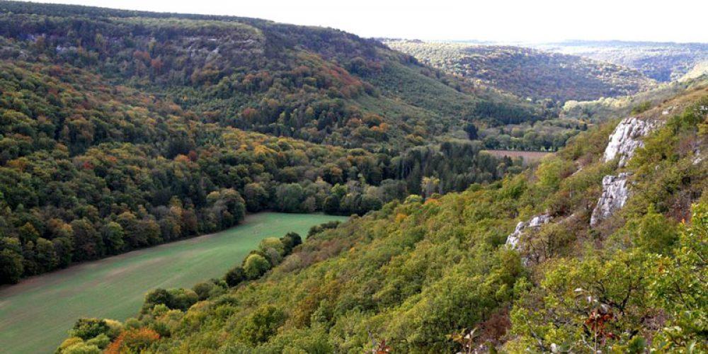 """Balade dans le Val-Suzon """"Sentier du faucon pèlerin"""""""